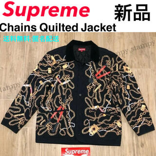 シュプリーム(Supreme)の【新品】Supreme Chains Quilted Jacket L(ブルゾン)