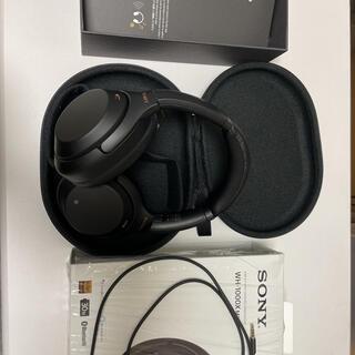ソニー(SONY)のWH-1000XM3(ヘッドフォン/イヤフォン)