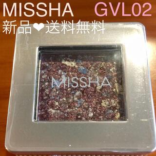 ミシャ(MISSHA)の ミシャ グリッタープリズム シャドウ GVL02 パフュームプリズム(アイシャドウ)