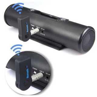 Bluetooth レシーバー  カーオーディオ AUX イヤホン 無線化(スピーカー)
