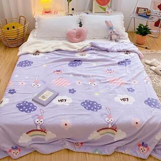ステラ・ルー - 日本未発売 ダッフィーフレンズ ブランケット 毛布 もこもこ  週末セール