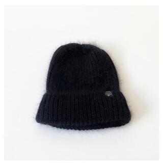 シールームリン(SeaRoomlynn)のSearoomlynn新品アンゴラニット帽(ニット帽/ビーニー)