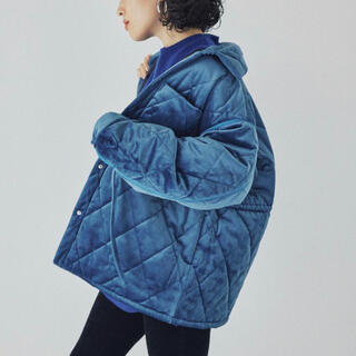 ステュディオス(STUDIOUS)の【MATURED】Velour Quilting jacket(ブルゾン)