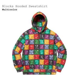 シュプリーム(Supreme)のSupreme Blocks Hooded Sweatsh(パーカー)