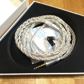 Beat Audio Prima Donna 8wire MMCX 4.4mm(ヘッドフォン/イヤフォン)