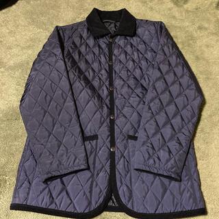 ムジルシリョウヒン(MUJI (無印良品))の無印良品 キルティングジャケット ネイビー Sサイズ(ナイロンジャケット)