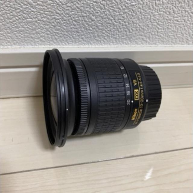 Nikon(ニコン)のニコン AF-P DX NIKKOR 10-20mm f/4.5-5.6G VR スマホ/家電/カメラのカメラ(デジタル一眼)の商品写真