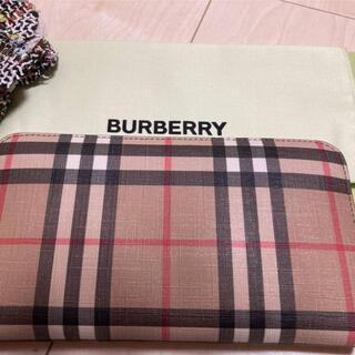 BURBERRY - 新品】バーバリー 長財布 ヴィンテージ ラウンド 希少