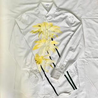 ロエベ(LOEWE)のloewe  ホワイト デイジー プリントシャツ(シャツ)