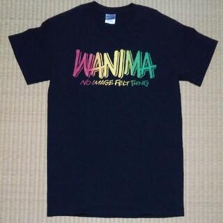 ワニマ(WANIMA)の☆ WANIMA ピザロゴ ブラック Tシャツ Sサイズ 未使用品 ☆(Tシャツ/カットソー(半袖/袖なし))