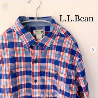 エルエルビーン(L.L.Bean)のL.L.Bean(エルエルビーン)長袖 チェックシャツ Lサイズ (シャツ)