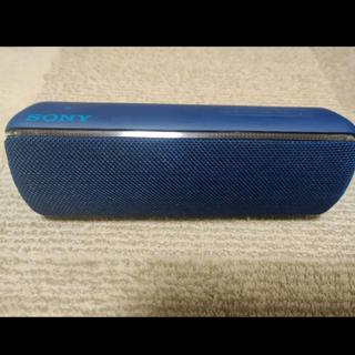 ソニー(SONY)の【初売りセール】SONY SRS-XB32 ブルー 美品(スピーカー)
