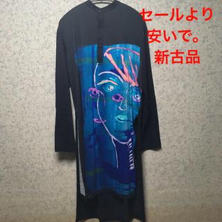 ヨウジヤマモト(Yohji Yamamoto)のyohjiyamamoto 20ss 朝倉優佳アートシャツカットソー(シャツ)