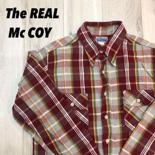 ザリアルマッコイズ(THE REAL McCOY'S)の【美品】THE REAL Mc COY's 未使用に近い(Tシャツ/カットソー(半袖/袖なし))
