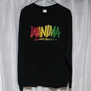 ワニマ(WANIMA)の☆ WANIMA 1 CHANCE NIGHT ロングTシャツ Mサイズ ☆(Tシャツ/カットソー(七分/長袖))