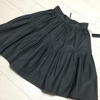 フォクシー(FOXEY)の極美品タグ付き✨FOXEY NEW YORK ブロッサムスカート 40(ひざ丈スカート)