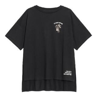 GU - GU刺繍チュニックTシャツディズニー・ヴィランズDisneyXL超大型店限定