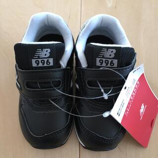 ニューバランス(New Balance)のスニーカー ニューバランス  子供靴 ベビー NB IZ996L BK ブラック(スニーカー)