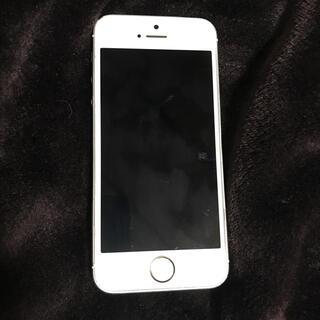アップル(Apple)のiPhone5s 中古 ゴールド ジャンク(スマートフォン本体)