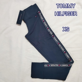 TOMMY HILFIGER - 【新品】TOMMY HILFIGER レギンス レディース XS ネイビー