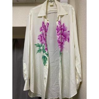 Yohji Yamamoto - yohji yamamoto 花と少年期アセテートシャツ