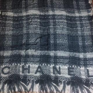 シャネル(CHANEL)のCHANEL確実正規品シルク ストール 沖縄DFS購入(ストール/パシュミナ)