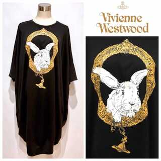 Vivienne Westwood - 新品同様 ヴィヴィアンウエストウッド バニー イン フレーム バルーンワンピース