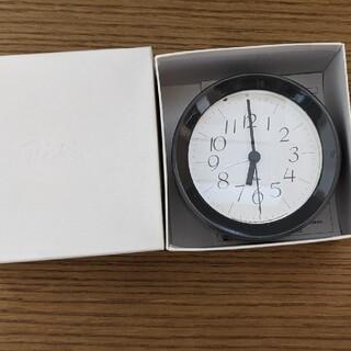 riki 置き時計 グレー(置時計)
