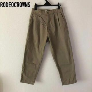 ロデオクラウンズ(RODEO CROWNS)のRodeo Crowns ホールド リラックス 2タック テーパードパンツ(カジュアルパンツ)