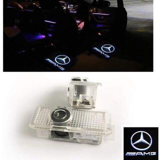 ZNYLSQ LED投影レーザーロゴライト ドアウェルカムライト カーテシランプ(蛍光灯/電球)