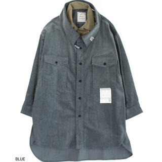 ミハラヤスヒロ(MIHARAYASUHIRO)のMIHARA YASUHIRO double face over shirts(シャツ)