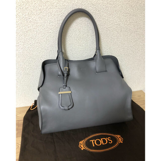 TOD'S - 美品 トッズ  バッグ グレー