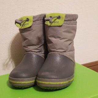 クロックス(crocs)の17.5cm crocs/クロックス 防水ブーツ(ブーツ)