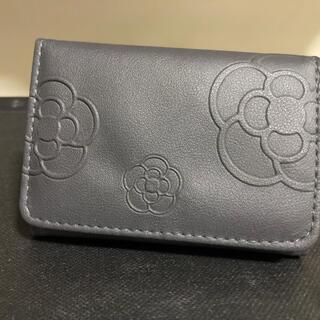 クレイサス(CLATHAS)のクレイサス  CLATHAS  財布  黒  ピンク  花(折り財布)