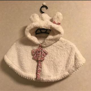 アカチャンホンポ(アカチャンホンポ)の赤ちゃんポンチョ(ジャケット/コート)