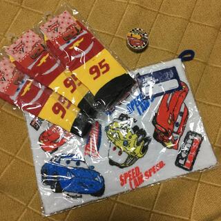 Disney - カーズ 靴下(19~24センチ)×3足 ・ 雑巾 ・ マスキングテープ
