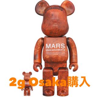 メディコムトイ(MEDICOM TOY)のtimmmy様専用【新品未開封】BE@RBRICK MARS 100%&400%(その他)