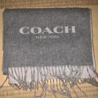 COACH - coach マフラー グレー