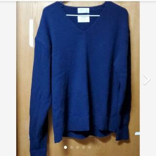 オペークドットクリップ(OPAQUE.CLIP)のレディースセーター 紺いろ(ニット/セーター)