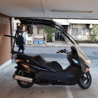 フォルツァ MF08 ルーフシールド 屋根付き マニュアルモード 保険1年半以上(車体)