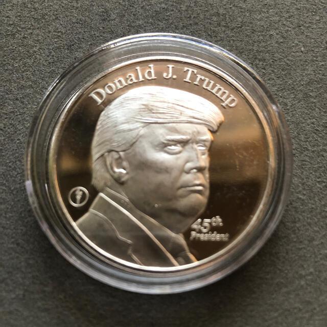 ドナルドトランプ大統領銀貨No.3 エンタメ/ホビーの美術品/アンティーク(貨幣)の商品写真