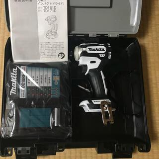 マキタ(Makita)のマキタ インパクトドライバー TD171D ホワイト 新品!(工具)