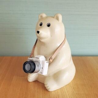 カメラ (しろくま貯金箱用小物)