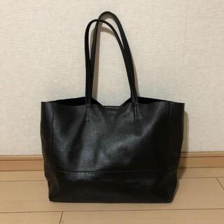 ナノユニバース(nano・universe)のナノユニバース 極上オールレザートートバッグ /ブラック 肩掛け鞄 メンズ 本革(トートバッグ)