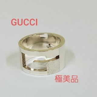Gucci - GUCCI 極美品 Gリング シルバー 925 指輪 グッチ