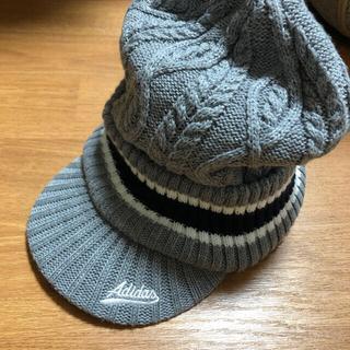 アディダス(adidas)のadidas ゴルフ ニット帽(ウエア)