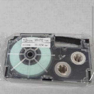 カシオ(CASIO)の【新品】純正品 カシオ ネームランド テープカートリッジ 12ミリ(オフィス用品一般)