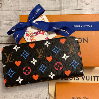LOUIS VUITTON - 完売品 ルイヴィトン ジッピーウォレット クルーズコレクション ノワール レア