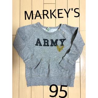 マーキーズ(MARKEY'S)のマーキーズ トレーナー スウェット 95(Tシャツ/カットソー)