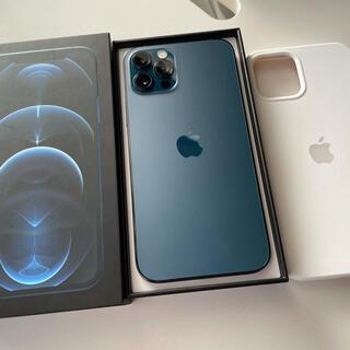 iPhone - 最終セール 美品 simフリー  iPhone12 Pro 128GB ブルー
